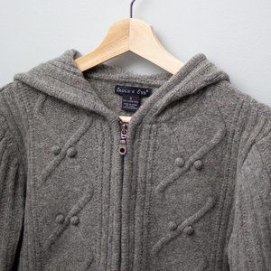VINTAGE 100% Pure Lamb's Wool Zip Cardigan 🐑